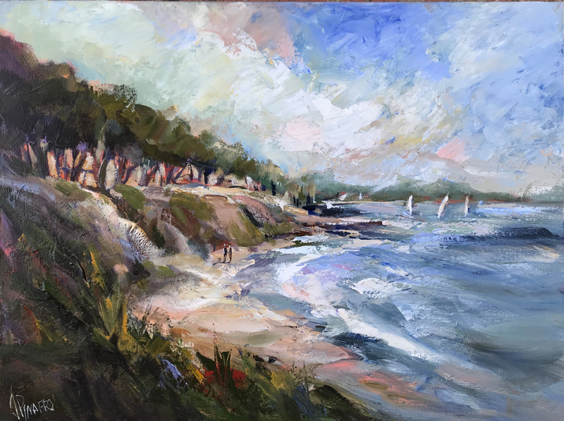 (CreativeWork) ST LEONARDS (Victoria) by Ivana Pinaffo. Acrylic Paint. Shop online at Bluethumb.