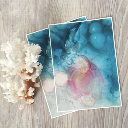 (CreativeWork) Opal prints   Ed. 2 of 2 by Stephanie Lisa. Print. Shop online at Bluethumb.