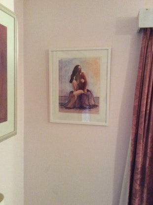 (CreativeWork) A study of Light  by Robin Hicks. Watercolour Paint. Shop online at Bluethumb.