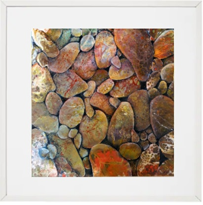 (CreativeWork) Finding the Perfect Pebble by Marta Blaszak-Just. Mixed Media. Shop online at Bluethumb.