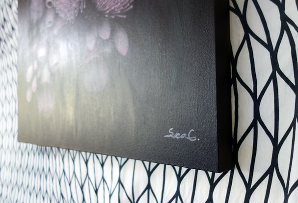 (CreativeWork) The silence by Svea Chang. Acrylic Paint. Shop online at Bluethumb.