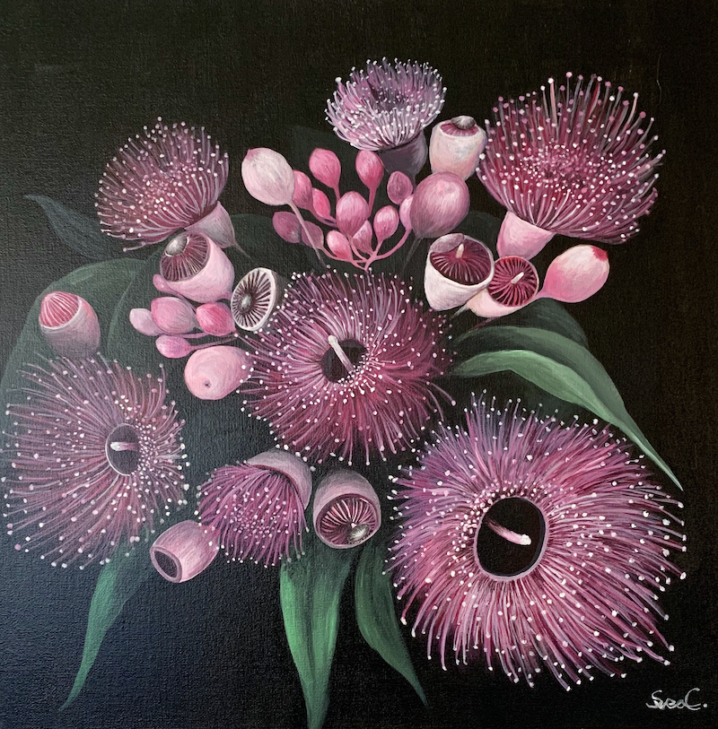 (CreativeWork) Gumtree original by Svea Chang. Acrylic Paint. Shop online at Bluethumb.