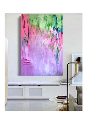 (CreativeWork) Marlowe by Anne-Maree Wise. Acrylic Paint. Shop online at Bluethumb.