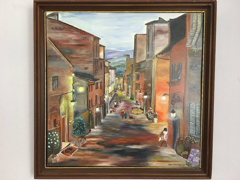 (CreativeWork) My Italy by Mary Preston. Oil Paint. Shop online at Bluethumb.