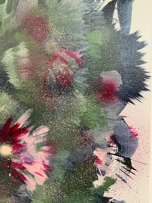 (CreativeWork) Foliage by Tracy Stephenson. Mixed Media. Shop online at Bluethumb.