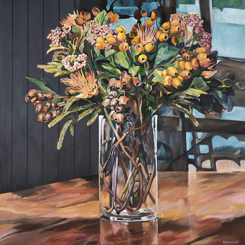 (CreativeWork) Favourite Floral Ed. 1 of 99 by Emma Nancarrow. Print. Shop online at Bluethumb.