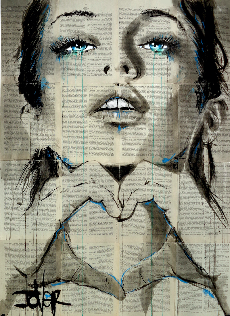 (CreativeWork) ALL YOU NEED IS by loui jover. drawing. Shop online at Bluethumb.