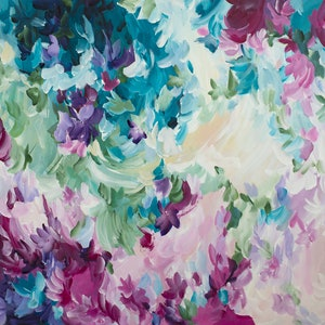 (CreativeWork) Transition of Love by Amber Gittins. arcylic-painting. Shop online at Bluethumb.