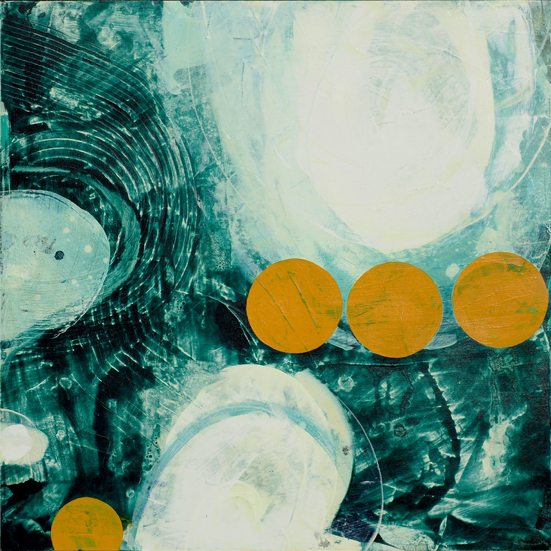 (CreativeWork) When time stands still by Jan Allsopp. Acrylic Paint. Shop online at Bluethumb.
