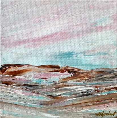 (CreativeWork) Scorched II by Sharon Rynehart. Acrylic Paint. Shop online at Bluethumb.