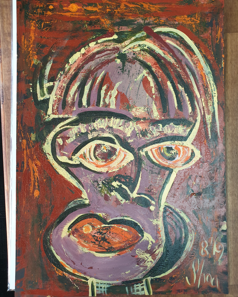 (CreativeWork) untitled 1 by Shea Peterson. Acrylic Paint. Shop online at Bluethumb.