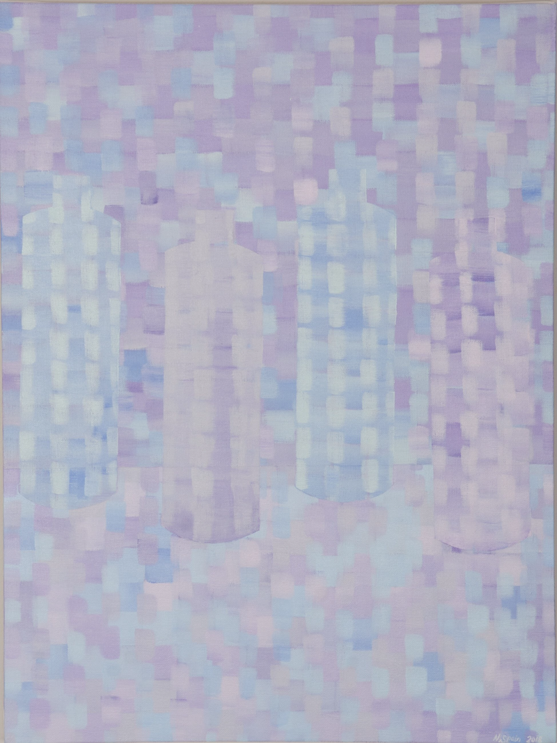 (CreativeWork) Invisible still life, number one by Natalie Spain. Acrylic Paint. Shop online at Bluethumb.