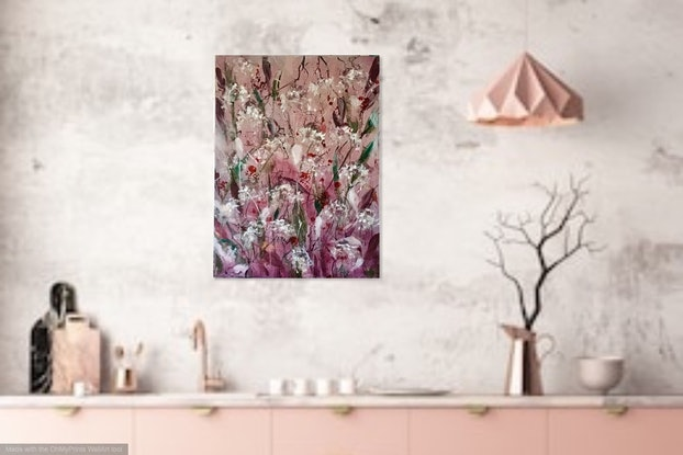 (CreativeWork) Attitude by Louise Croese. Acrylic Paint. Shop online at Bluethumb.
