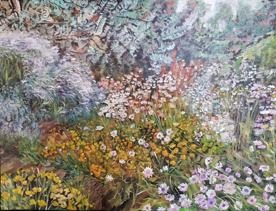 (CreativeWork) Wild WA - I  NEWLY FRAMED by ALAN HEATHER-XIA. Oil Paint. Shop online at Bluethumb.