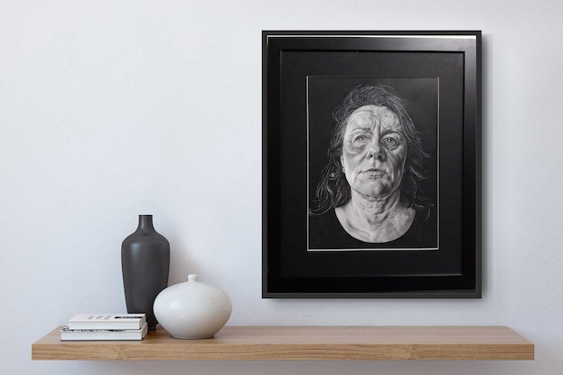 (CreativeWork) Reflections by Kate Higgins. Drawings. Shop online at Bluethumb.