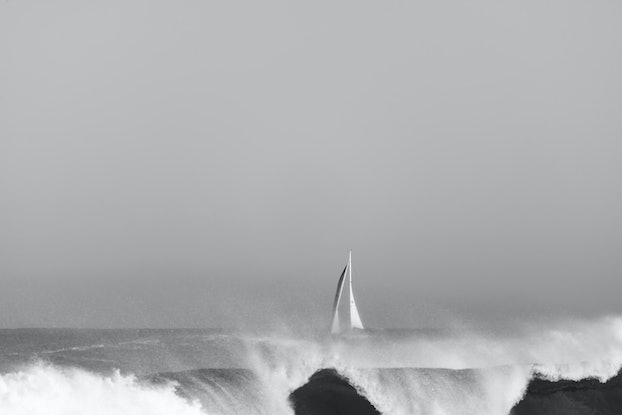 (CreativeWork) Behind the surf Ed. 1 of 1 by Wendy Philip. Photograph. Shop online at Bluethumb.