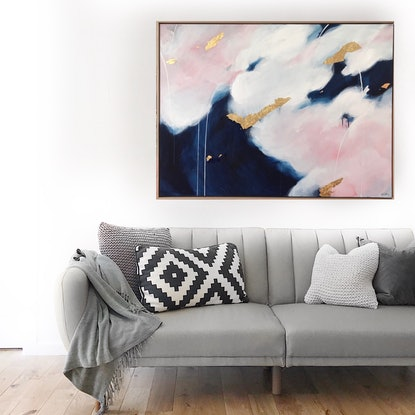 (CreativeWork) Mistral by Marnie McKnight. Acrylic Paint. Shop online at Bluethumb.