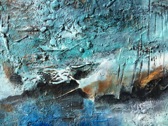 (CreativeWork) Moody landscape by sue bannister. Other Media. Shop online at Bluethumb.