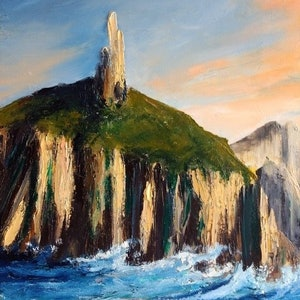 (CreativeWork) Passing Cape Pillar by Liam Rudolf. #<Filter:0x00007f9948bffde0>. Shop online at Bluethumb.