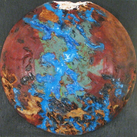 (CreativeWork) Planet G82-S by Andrew BARR. Mixed Media. Shop online at Bluethumb.