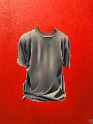 (CreativeWork) Shannon no.1 by Holly Would. Oil Paint. Shop online at Bluethumb.
