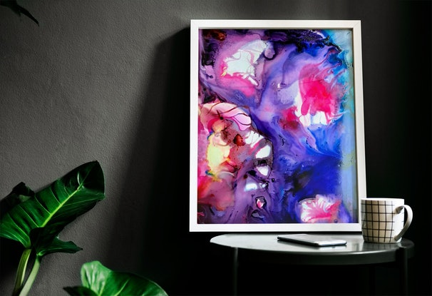 (CreativeWork) Emotion by Nicole Seal. Drawings. Shop online at Bluethumb.