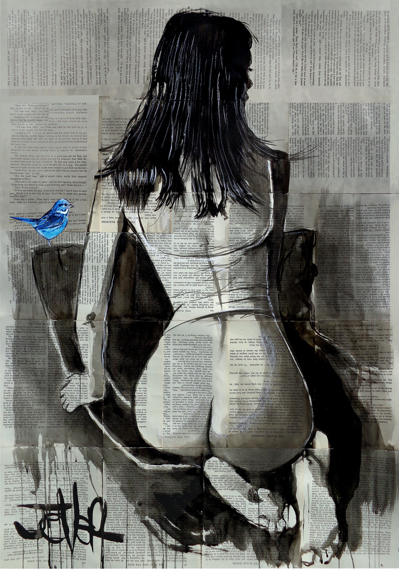 (CreativeWork) FINDING HOPE by loui jover. Drawings. Shop online at Bluethumb.