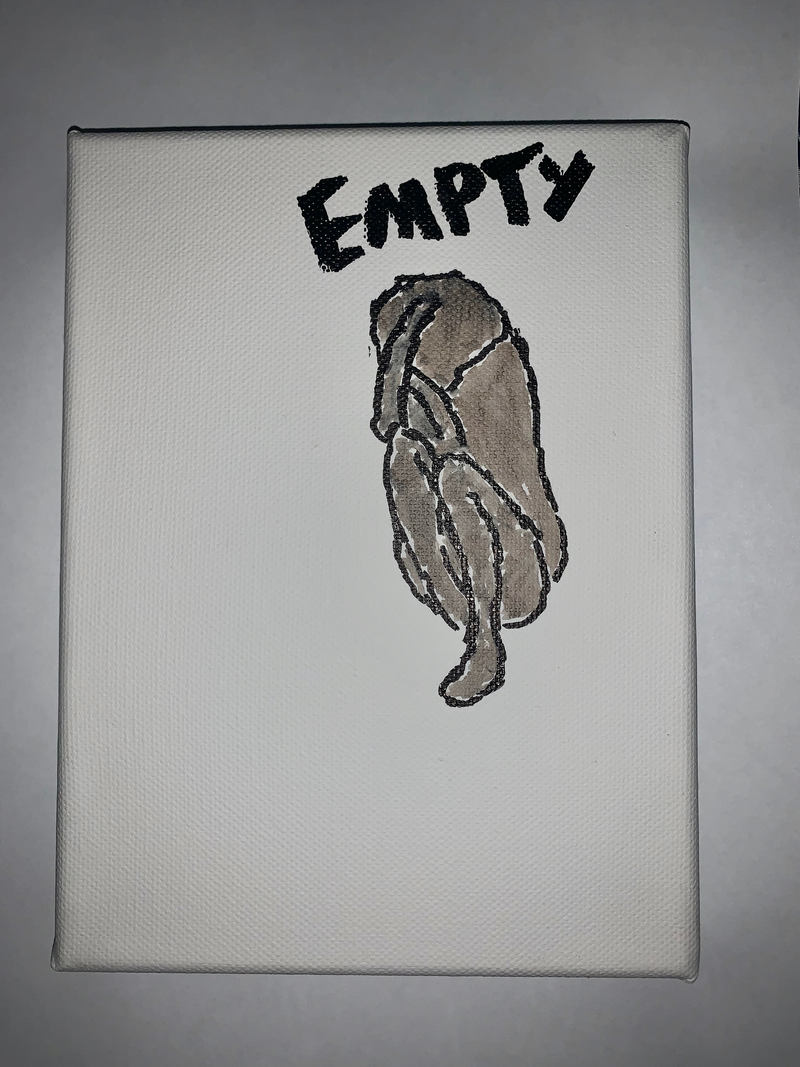 (CreativeWork) empty by anonymous artist. Drawings. Shop online at Bluethumb.