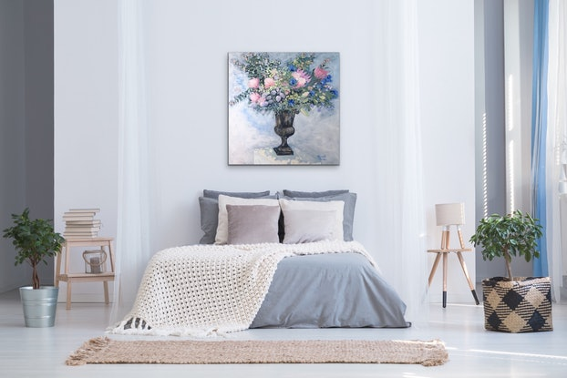 (CreativeWork) Margaret by Meredith Howse. Acrylic Paint. Shop online at Bluethumb.
