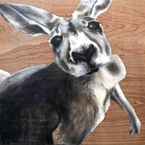 (CreativeWork) Gary knew exactly which look would get him out of trouble with Mum by Karen Bloomfield. drawing. Shop online at Bluethumb.
