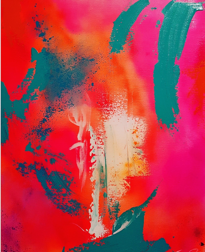 (CreativeWork) Partytime 2 by Catherine Farren-Price. Acrylic Paint. Shop online at Bluethumb.