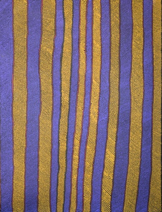 (CreativeWork) Tali (sand hills) - #22-19 by Lawrence Mitchell. Acrylic Paint. Shop online at Bluethumb.