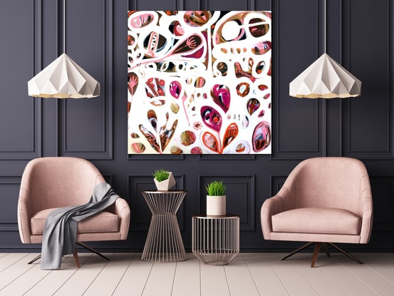 (CreativeWork) Seeds of Life VI by Sarah Morrow. Acrylic Paint. Shop online at Bluethumb.