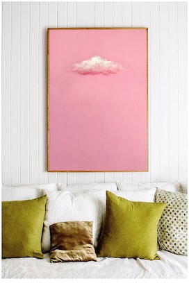(CreativeWork) Pink by Donna Christie. Acrylic Paint. Shop online at Bluethumb.