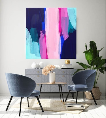 (CreativeWork) It Is What It Is by Maggi McDonald. Acrylic Paint. Shop online at Bluethumb.