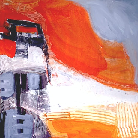 (CreativeWork) The Lighthouse by Dianne Lofts-Taylor. Acrylic Paint. Shop online at Bluethumb.