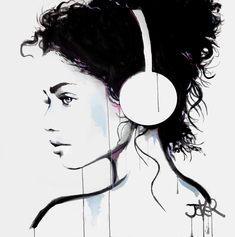 (CreativeWork) SOFT SOUNDS by loui jover. Acrylic Paint. Shop online at Bluethumb.