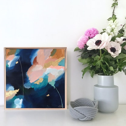 (CreativeWork) Tranquil Prism by Marnie McKnight. Acrylic Paint. Shop online at Bluethumb.