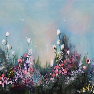 (CreativeWork) A New season  by Sue Dyde. arcylic-painting. Shop online at Bluethumb.