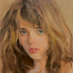 (CreativeWork) Warm light by Li Zhang. Oil Paint. Shop online at Bluethumb.