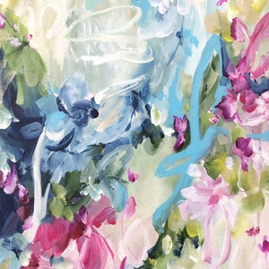 (CreativeWork) Guilty Pleasure by Amber Gittins. acrylic-painting. Shop online at Bluethumb.