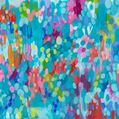 (CreativeWork) Summer holidays by Janelle Bowra. Acrylic Paint. Shop online at Bluethumb.
