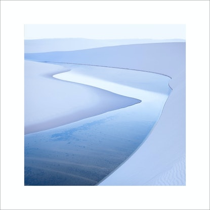 (CreativeWork) Lençóis Maranhenses study #7 Ed. 1 of 30 by Robert Salisbury. Photograph. Shop online at Bluethumb.