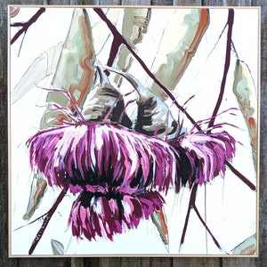 (CreativeWork) Last Bloom by Aidan Weichard. mixed-media. Shop online at Bluethumb.