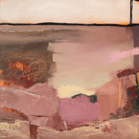 (CreativeWork) The edges of remote lands by Damien Venditti. Oil Paint. Shop online at Bluethumb.