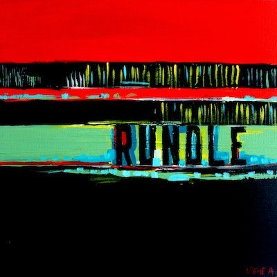 (CreativeWork) Rundle Street by Tim O'Shea. mixed-media. Shop online at Bluethumb.