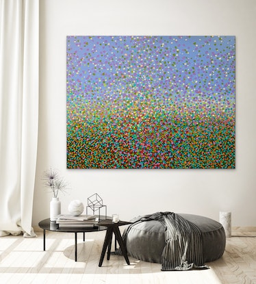 (CreativeWork) Field of Petals  by Theo Papathomas. #<Filter:0x00005597d91a0ab0>. Shop online at Bluethumb.