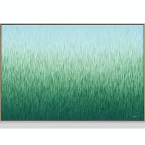 (CreativeWork) SILENT GRASS by George Hall. acrylic-painting. Shop online at Bluethumb.