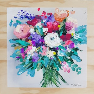 (CreativeWork) You Are So Beautiful to Me by Tanya Keenan. acrylic-painting. Shop online at Bluethumb.