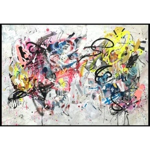 (CreativeWork) Street Abstract 126 by Cold Ghost. mixed-media. Shop online at Bluethumb.